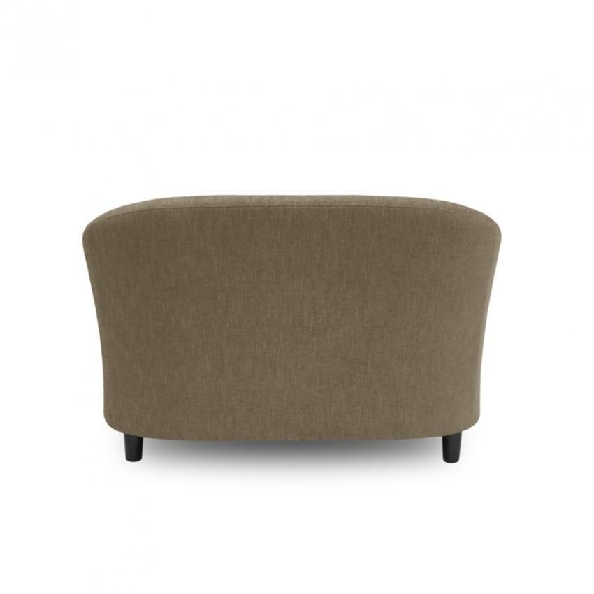 Ton Tub 2 Seater Chair - Light Brown - Zest Livings ONLINE