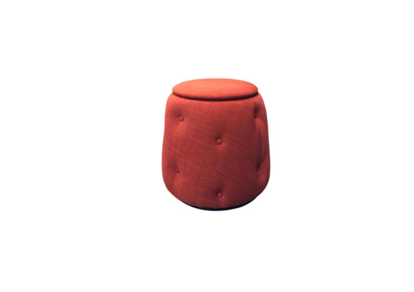 Philos Beauty Stool with Storage – Red 10