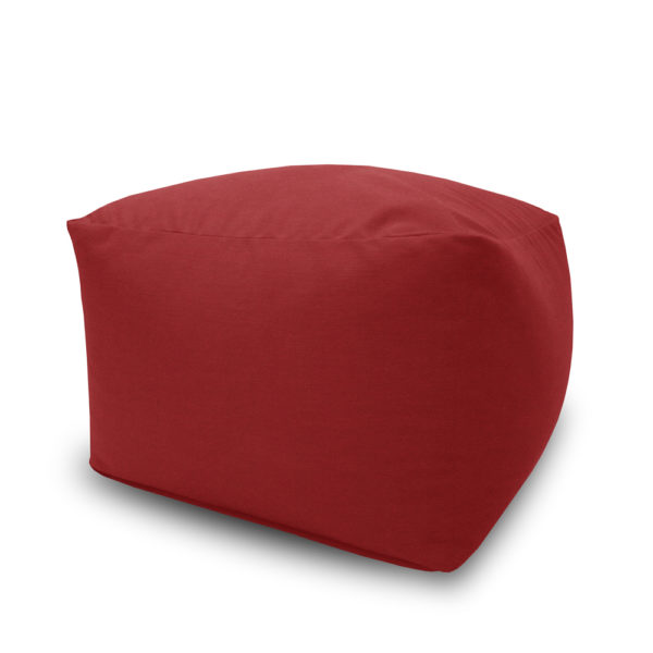 Stool L side view 7 Red