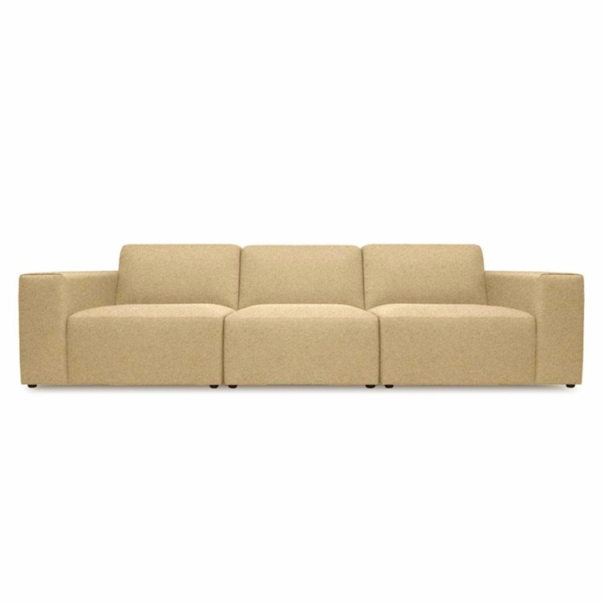 official photos 61594 5984f Grint 3 Seater Sectional Sofa - Yellow