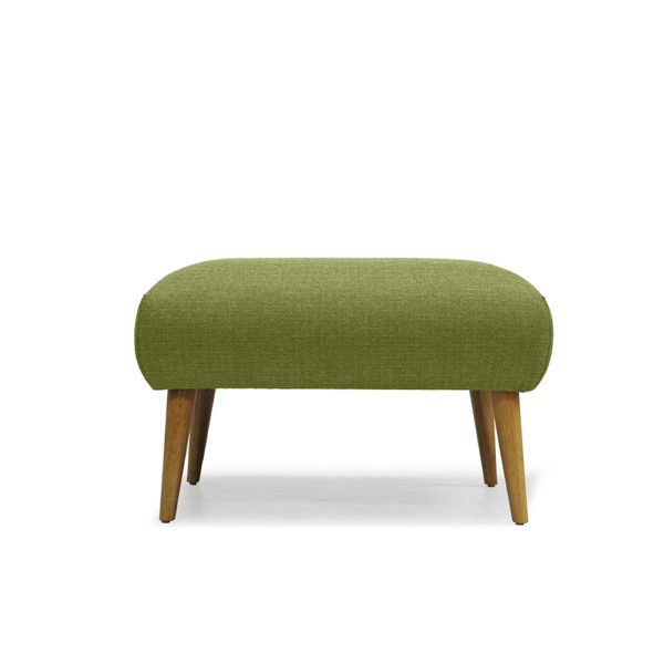 RUTH OTTOMAN FRONT VIEW GREEN