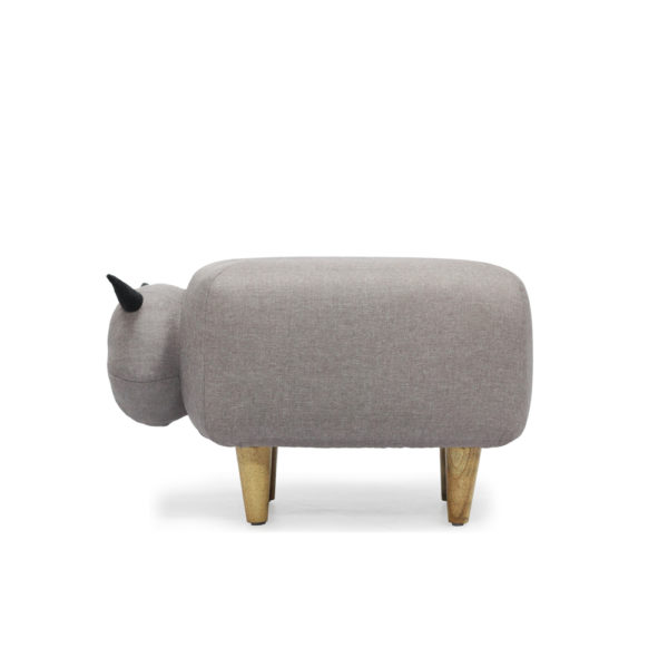 SHEEP OTTOMAN 2 SIDE VIEW RIGHT