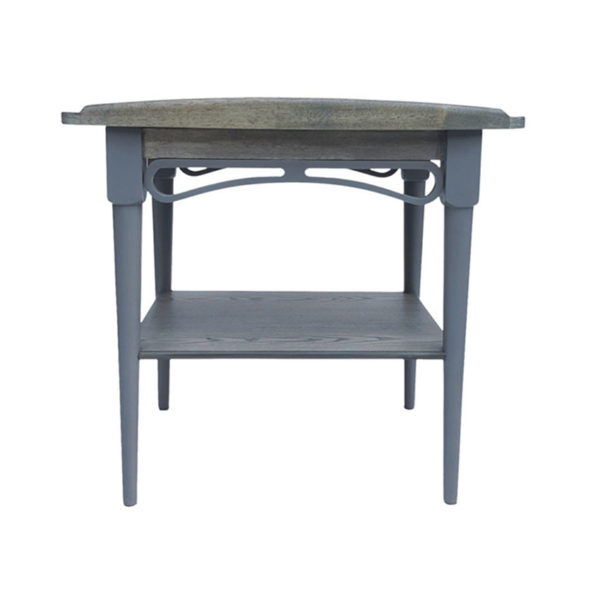 Philos Ring Side Table Grey 2