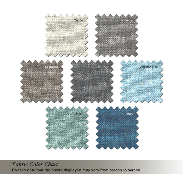 Fabric Color Chart 4