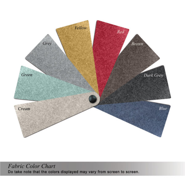 FORD SOFA COLOR SWATCHES