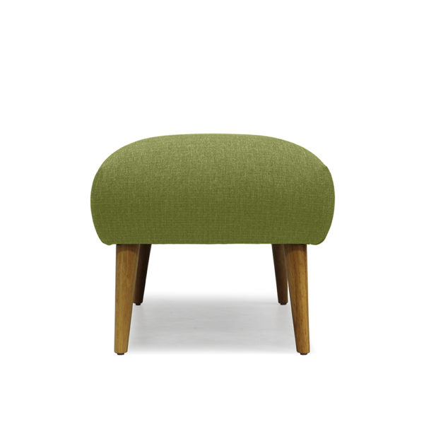 RUTH OTTOMAN SIDE VIEW GREEN