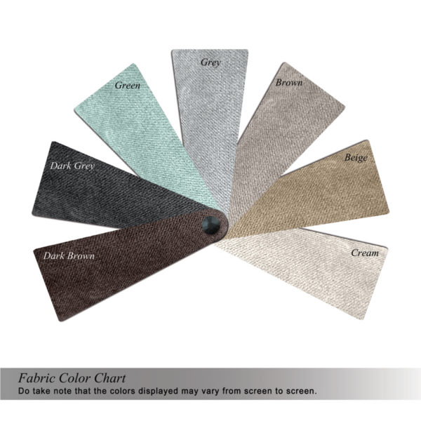 ARMANI 2.5 SEATER SOFA COLOR SWATCHES