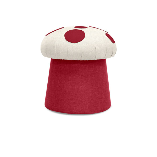 front view mushi red