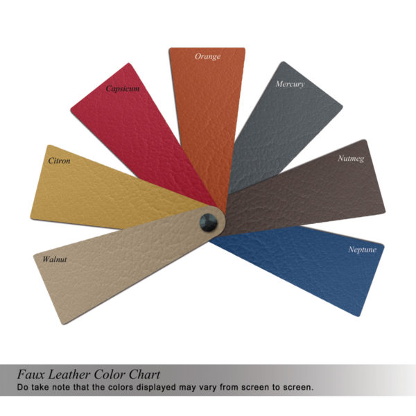 CHROME OTTOMAN COLOR SWATCHES