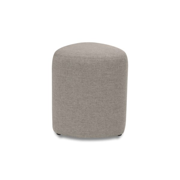 Poole Ottoman front view brown
