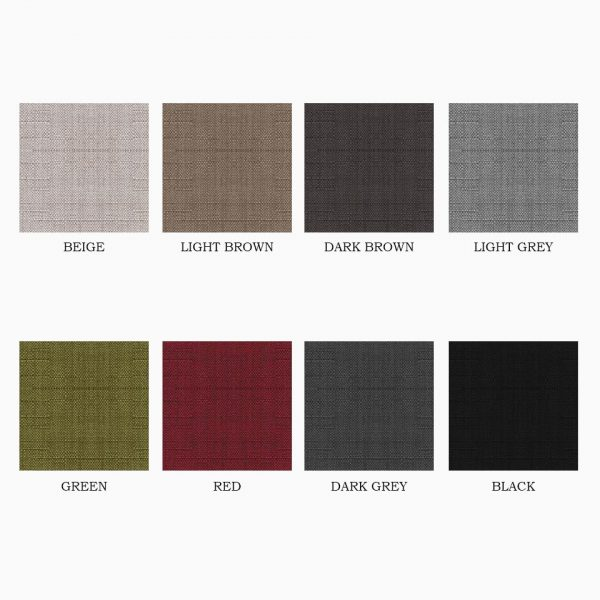 AXEL FABRIC COLORS