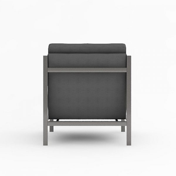 AXEL LOUNGE ARMCHAIR VIEW BACK
