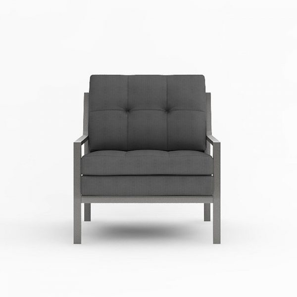 AXEL LOUNGE ARMCHAIR VIEW FRONT