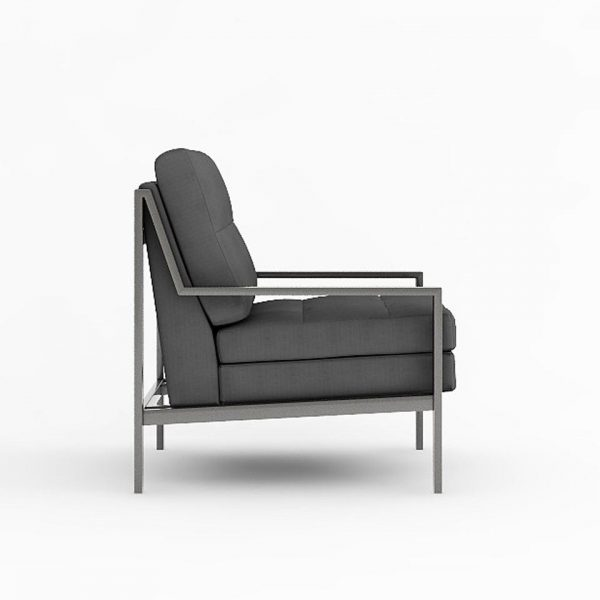 AXEL LOUNGE ARMCHAIR VIEW SIDE