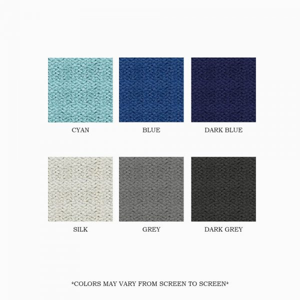 6 FABRIC COLORS 22616