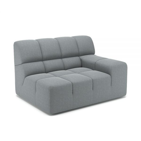 ROGER SIDE ARMCHAIR VIEW ANGLED GREY 1