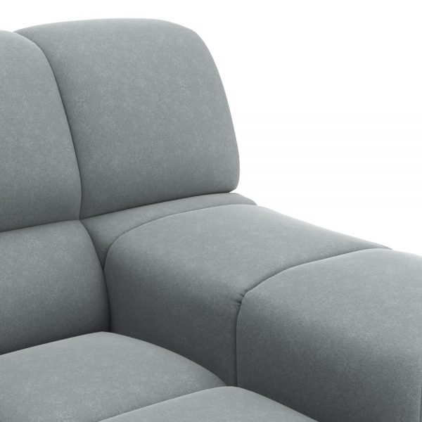ROGER SIDE ARMCHAIR VIEW CLOSEUP GREY