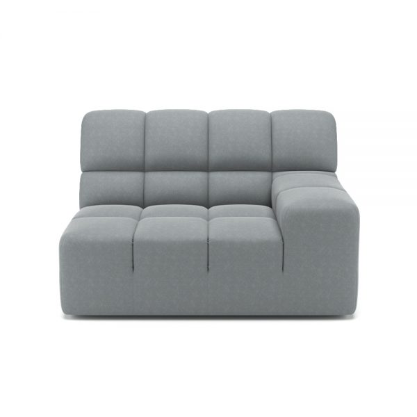 ROGER SIDE ARMCHAIR VIEW FRONT GREY 1