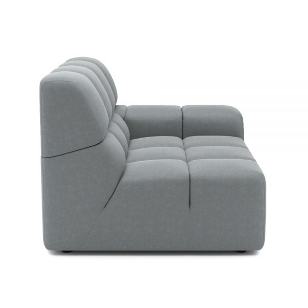ROGER SIDE ARMCHAIR VIEW SIDE GREY 1
